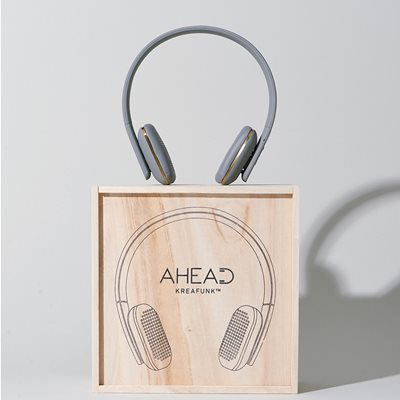 aHEAD BLUETOOTH HEADSET in Cool Grey