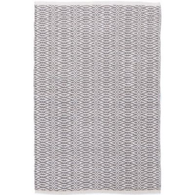 INDOOR FAIR ISLE RUG in Grey Platinum