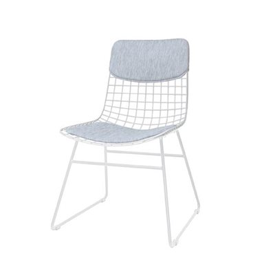 COMFORT KIT FOR WIRE DINING CHAIR in Grey