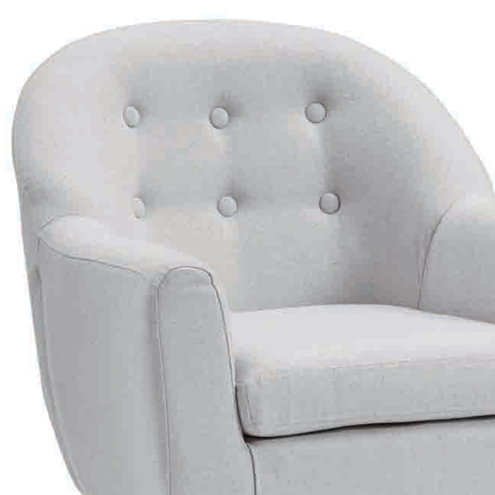 Star kids tub armchair in grey kids concept cuckooland for Grey comfy chair