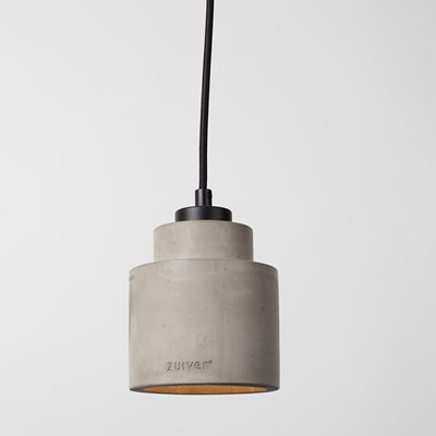 ZUIVER LEFT CONCRETE PENDANT LIGHT in Grey