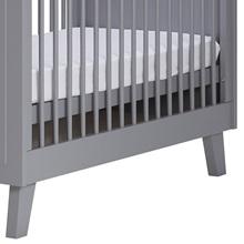 Grey Designer Baby Cot Side Detail