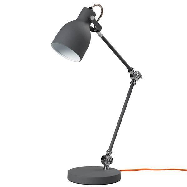 Task Table Lamp in Concrete Grey