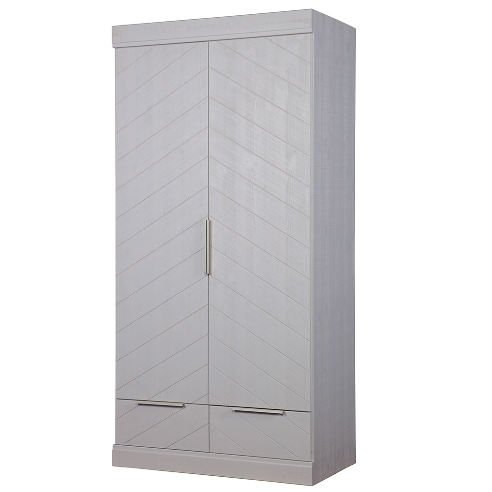 drawers richmond lrg white steens wardrobe with p door drawer in drw