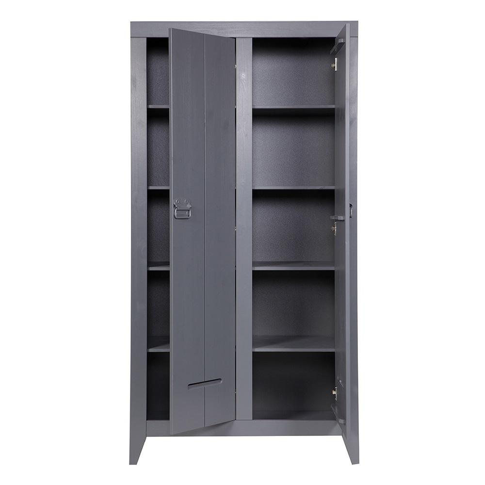 Kluis Locker Cabinet In Steel Grey Home Office Cuckooland