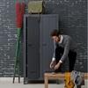 Locker Cabinet in Grey Pine
