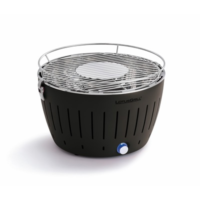 Lotus Smokeless Bbq Grill In Anthracite Portable Bbq S