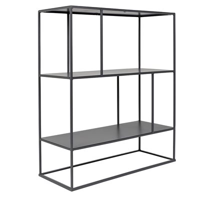 ZUIVER METAL STACKABLE SHELVING UNIT in Grey