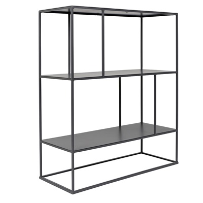 ZUIVER SON METAL STACKABLE SHELVING UNIT in Grey