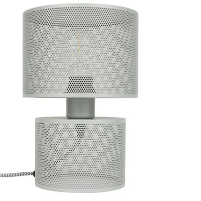 ZUIVER METAL GRID TABLE LAMP in Grey