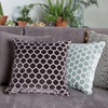 Sofa Cushions in Blue and Grey