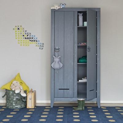 Kluis Locker Cabinet In Steel Grey - Home Office | Cuckooland