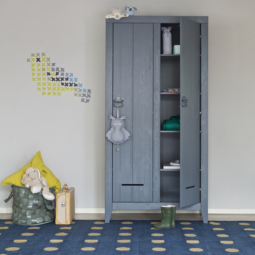 Locker Style Bedroom Furniture Kluis Locker Cabinet In Steel Grey Home Office Cuckooland
