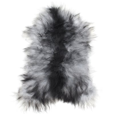 ICELANDIC SHEEPSKIN RUG in Grey