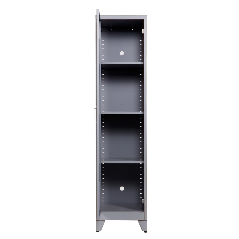 1 door locker cabinet kids desks drawers wardrobes for Porte metallique exterieur