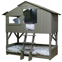 KIDS TREEHOUSE BUNKBED in Artichoke