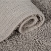 Light Rug in Pale Grey by Socially Responsible Supplier