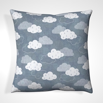 CUSHION in Vintage Cloud Design