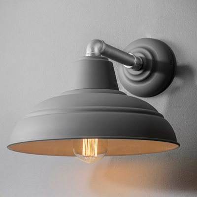 GARDEN TRADING SOUTHWARK INDOOR WALL LIGHT in Charcoal