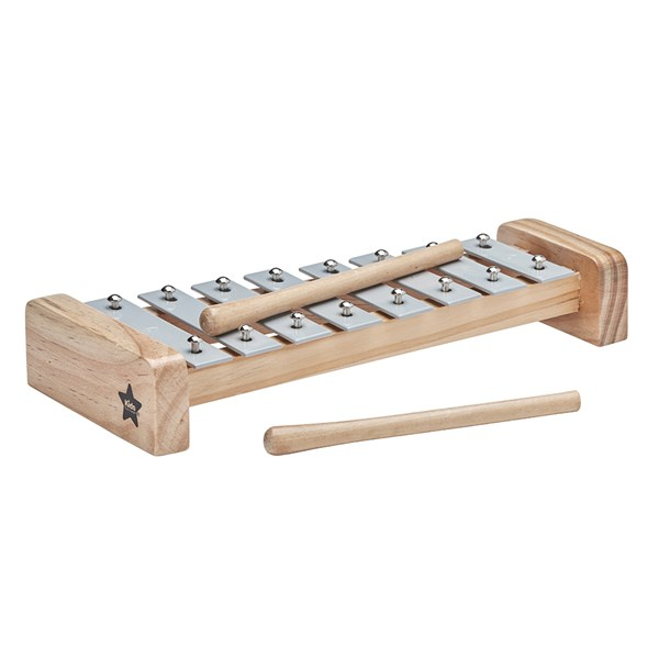 Children's Toy Xylophone in Grey