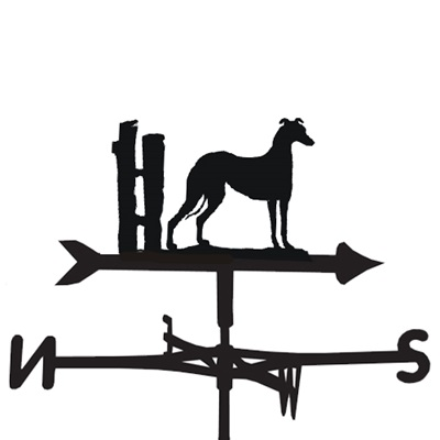 WEATHERVANE in Greyhound Design