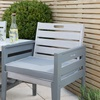 2 Seater Wooden Love Bench