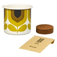 Orla Kiely Grow Your Own Basil Gift Set in Striped Tulip
