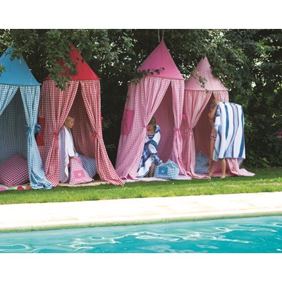 ... HANGING-TENT-Candy-Pink-Gingham-_2.jpg ...  sc 1 st  Cuckooland & Hanging Playtent in Candy Pink - Childrens Play Tents | Cuckooland