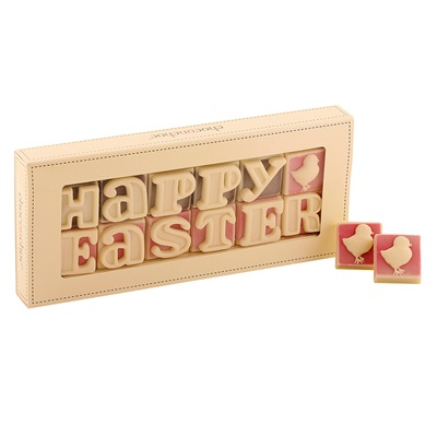 BOX OF 12 HAPPY EASTER CHOCOLATES