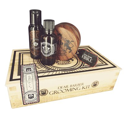 DEAR BARBER LUXURY MEN'S FIBRE HAIR CARE Gift Set