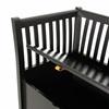 Under Seat Storage to Luxury Wooden Bench