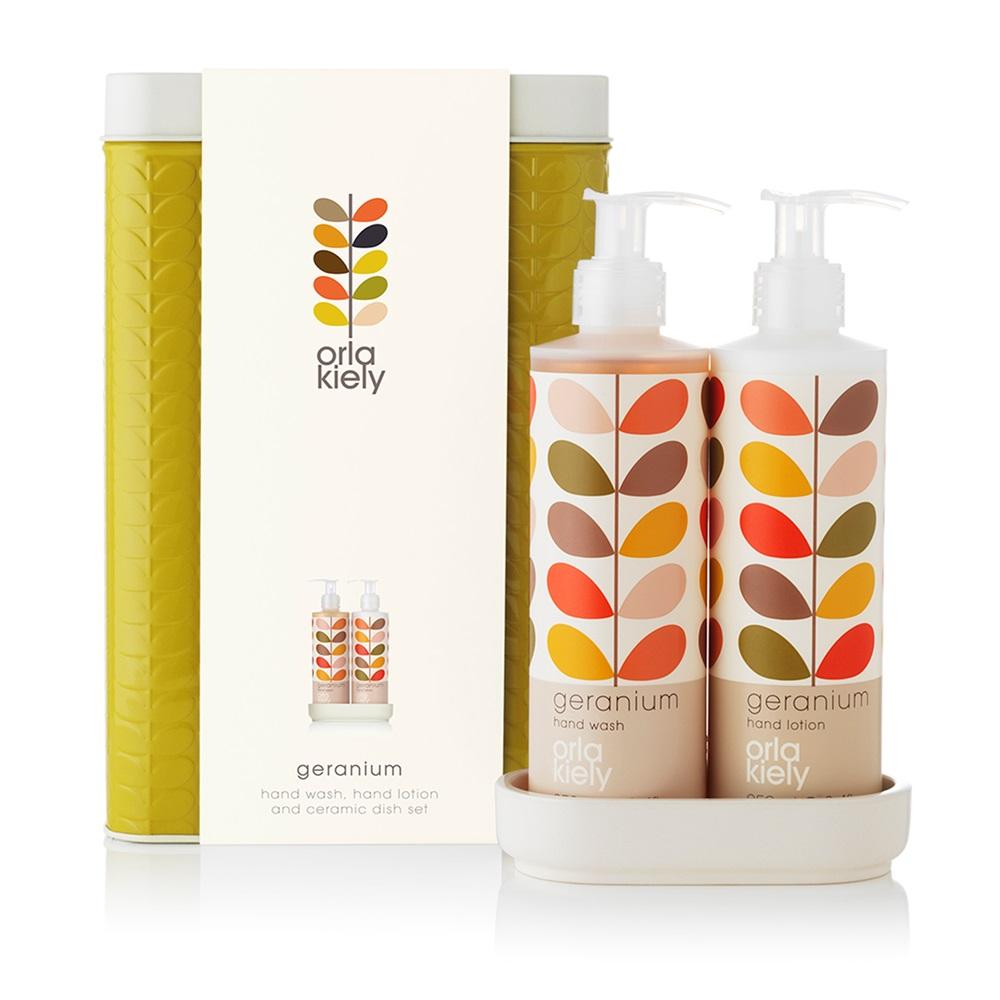Hand Wash Set Orla Kiely Bathroom Jpg