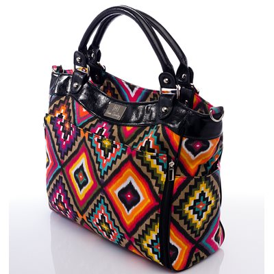NOVA HARLEY WEDGE CHANGING BAG in Aztec