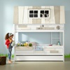 Adventure Hang Out Kids Bunk Bed for Girls