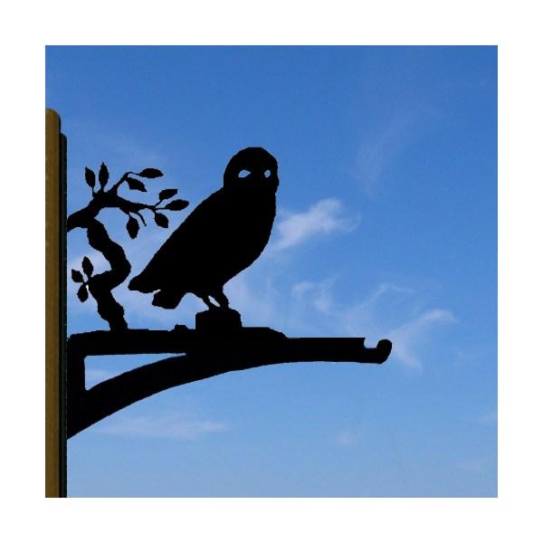 Owl Hanging Basket Bracket