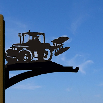 HANGING BASKET BRACKET in Ploughing Tractor Design