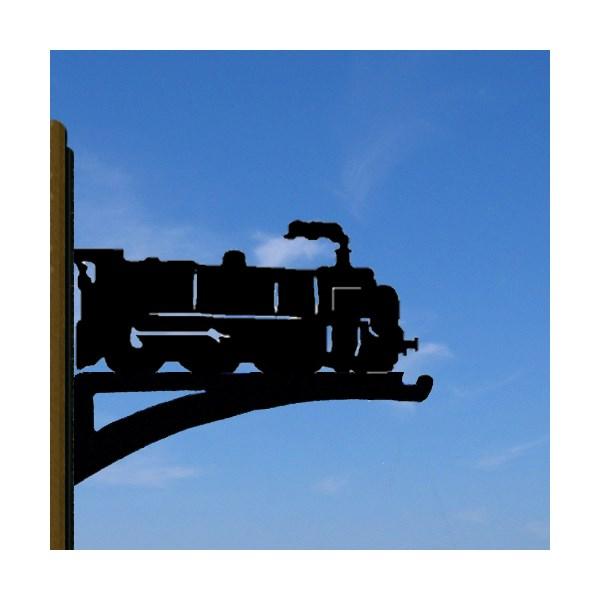 Hanging Basket Bracket in Train Design