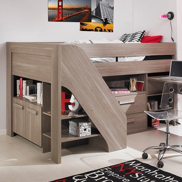 Fantastic Hangun Childrens Compact Cabin Bed