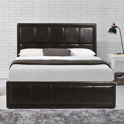 HANNOVER OTTOMAN BED in Faux Leather by Birlea