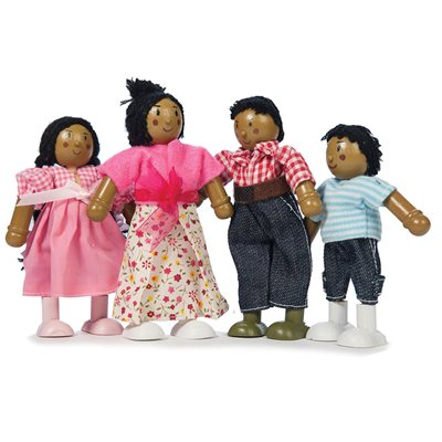 LE TOY VAN HAPPY FAMILY Set of 4