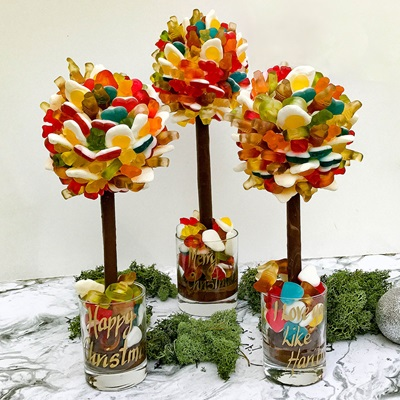 PERSONALISED HARIBO PICK & MIX CHOCOLATE SWEET TREE