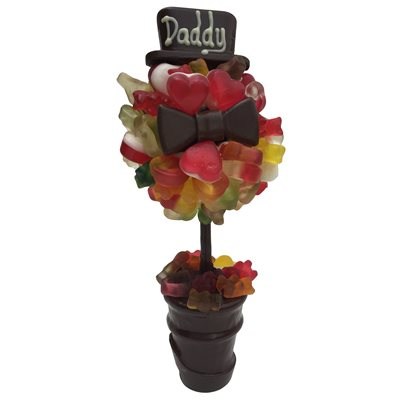 FATHERS DAY HARIBO & CHOCOLATE PERSONALISED SWEET TREE