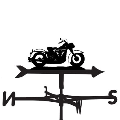 Weathervane in Harley Davidson Motorbike Design