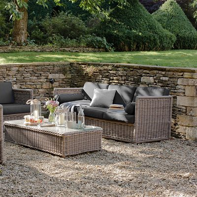 HARTING GARDEN FURNITURE SET in PE Rattan