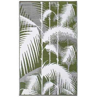 FAB HAB HAVANA OUTDOOR RUG in Green