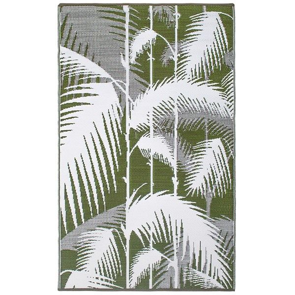 Havana Outdoor Rug in Green