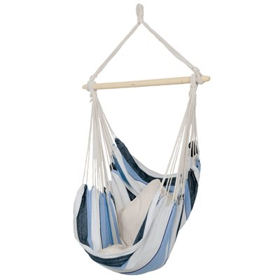 HAVANNA HANGING HAMMOCK CHAIR in Blue