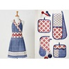Kitchen ware, oven mitt, apron, oven gloves in Hazuki Design