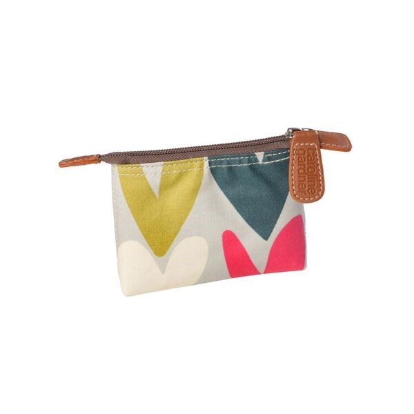 Caroline Gardner Coin Purse in Hearts