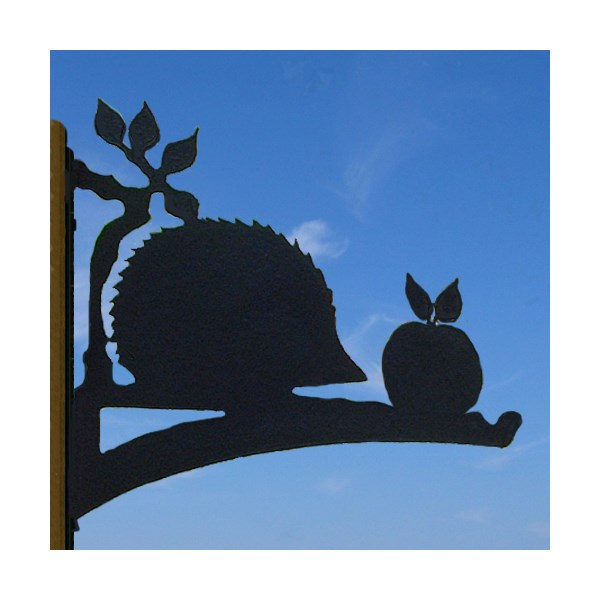 Hedgehog Design HANGING BASKET BRACKET
